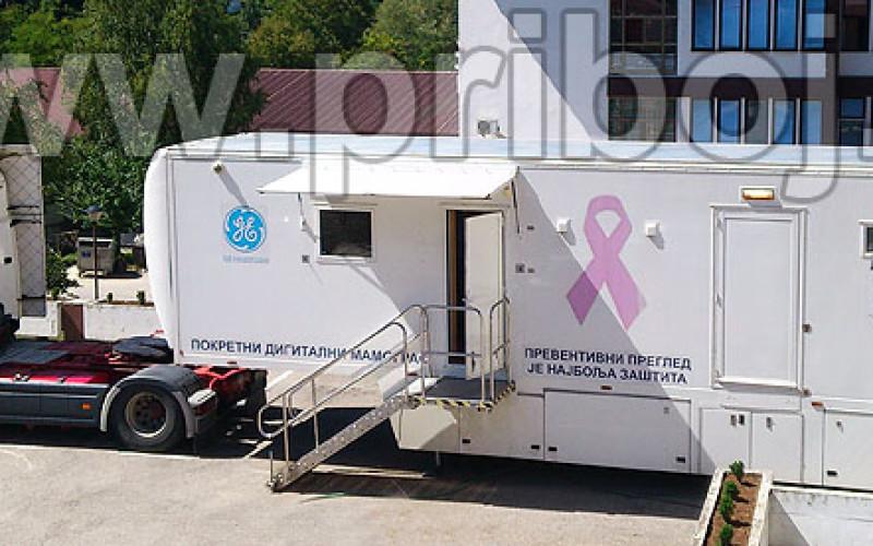Mobilni mamograf u Domu zdravlja Priboj