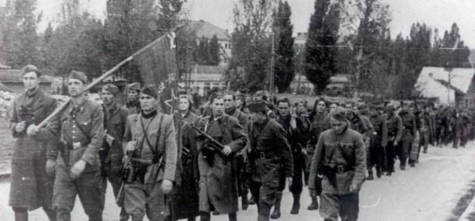 Počast Prvoj proleterskoj brigadi