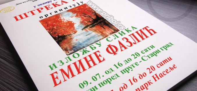 Štreka 2014 – Izložba Emine Fazlić