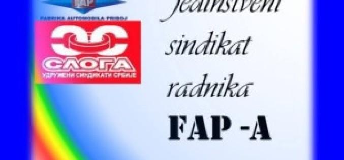 Obraćanje premijeru povodom dešavanja u FAP-u