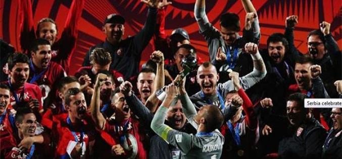 Srbija je prvak sveta u fudbalu! (video)