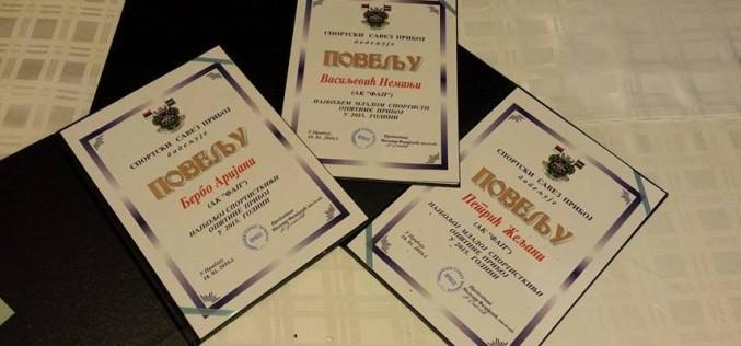 Proglašeni najbolji sportisti u Priboju