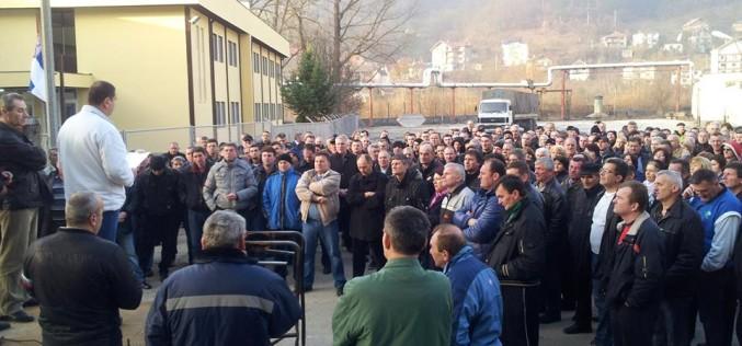 Štrajk: Radnici FAP-a opet u štrajku