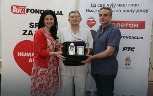 SRCE ZA DECU Porodilišta u Prijepolju i Priboju dobila aparate za proveru sluha kod beba