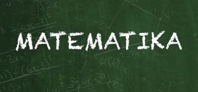 Matematika: Rezultati okružnog takmičenja za osnovce 2017