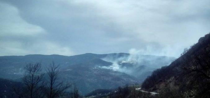 Požari u okolini Priboja (VIDEO)
