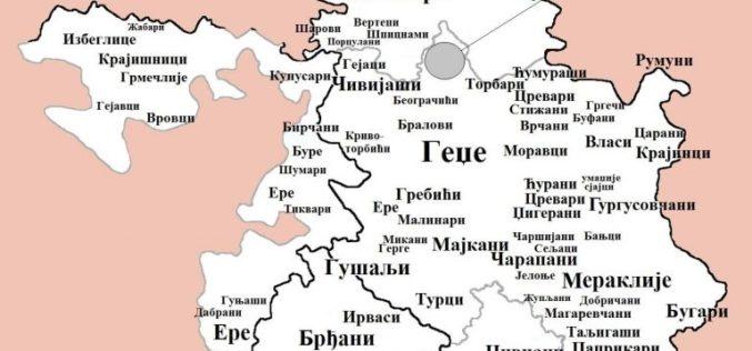 Nadimci stanovnika po Srbiji- mapa