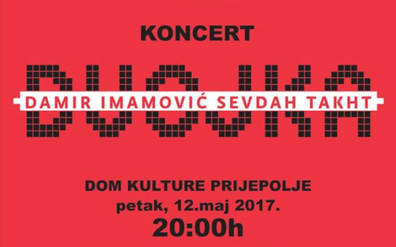 Dom kulture Prijepolje: Koncert Damira Imamovića