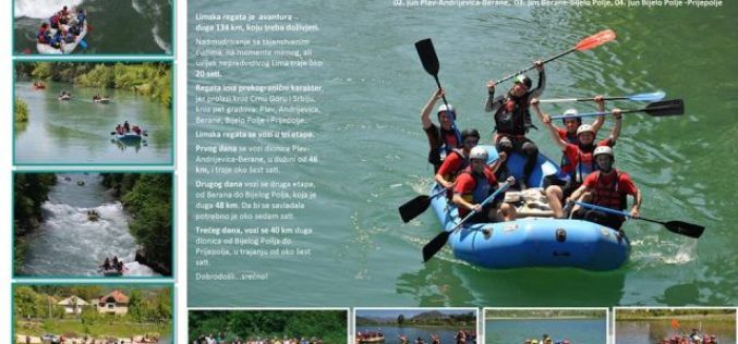 Tradicionalna ''LIMSKA REGATA'' od Plava do Prijepolja