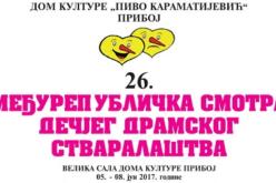 26. Međurepublička smotra dečjeg dramskog stvaralaštva