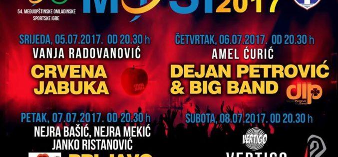 """PROGRAM SVEČANOG OTVARANJA 54. МОSI """"PLJEVLJА 2017"""""""