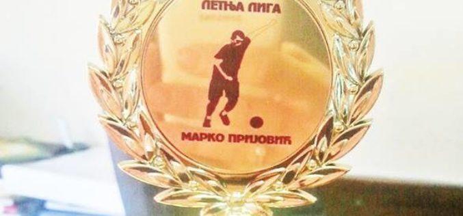 Mali fudbal: Letnja liga Marko Prijović
