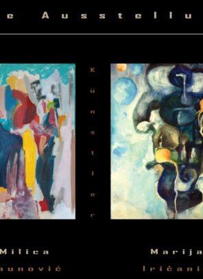 Izložba slika Milice i Marije  u Beču