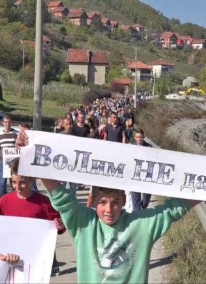 Uspeo protest protiv hidroelektrane u Priboju