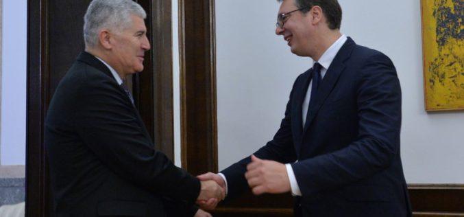 Sastanak Vučić – Čović: Rudo pripada Srbiji