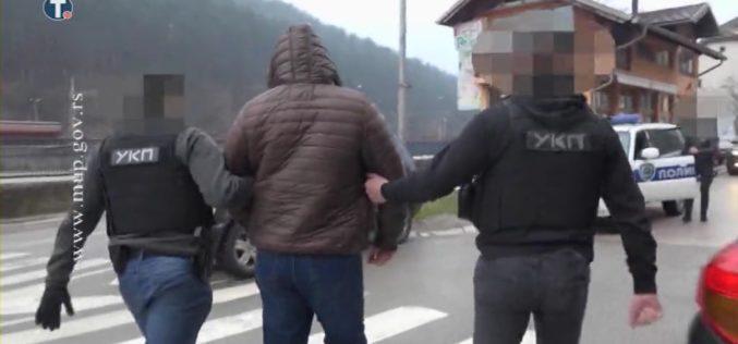 MUP objavio snimak hapšenja krijumčara migranata u Priboju – VIDEO