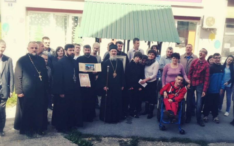 Episkop Atanasije posetio članove udruženja MNRO i DCP u Priboju