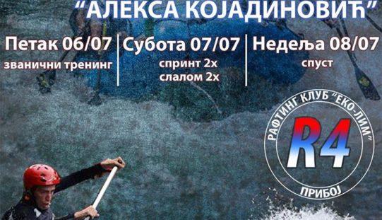 """Memorijalno rafting takmičenje """"Aleksa Kojadinović"""""""